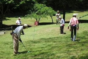 マレットゴルフ場の写真